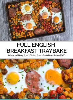 Full English Breakfast Traybake