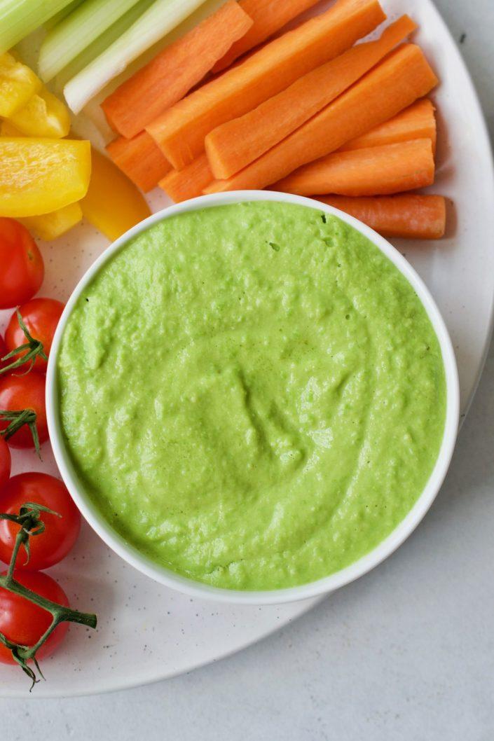 4-Ingredient Pea Dip