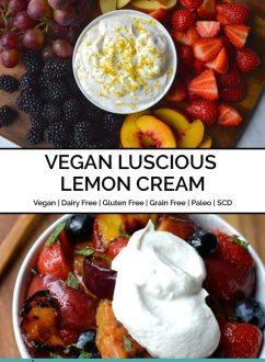 Luscious Lemon Cream