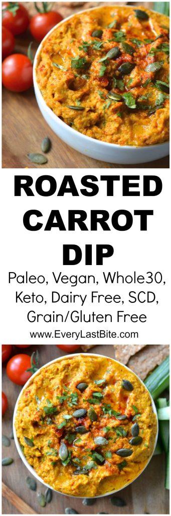 Roasted Carrot Dip