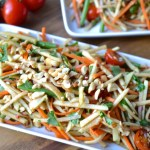 """Faux"" Green Papaya Salad"
