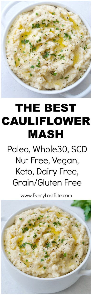 The Best Cauliflower Mash