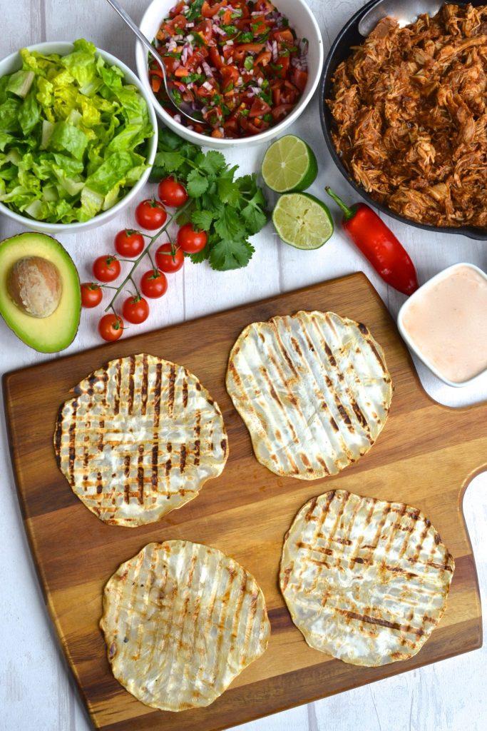 Whole30 Tortillas