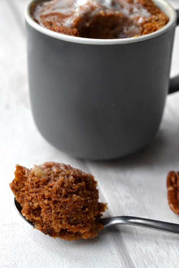 Paleo Carrot Cake Mug Cake