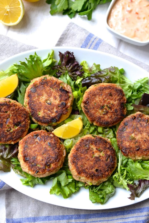 Making Fish Cakes With Canned Tuna