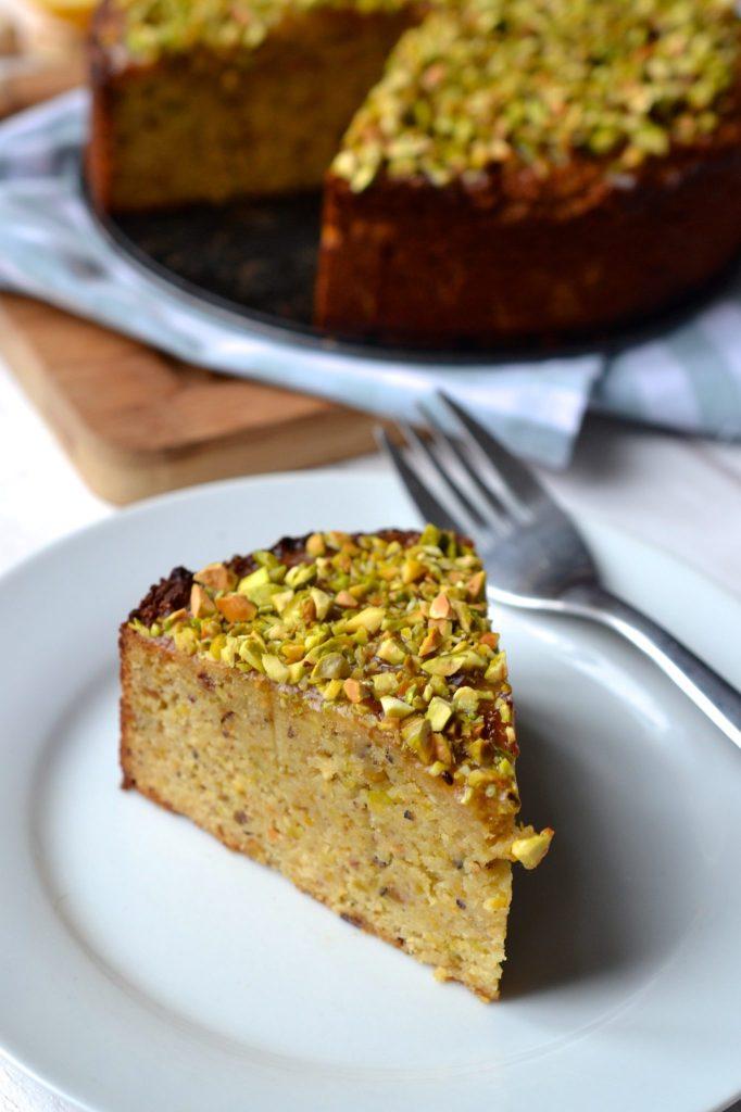 Pistachio & Lemon Cake