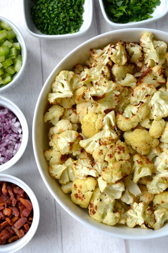Creamy Cauliflower Faux-Tato Salad