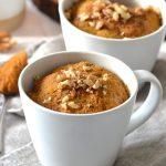 Pumpkin Mug Cake Paleo Grain Free Scd Every Last Bite