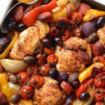 Spanish Chicken & Chorizo Traybake