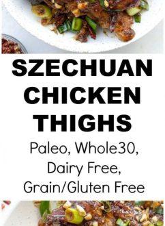 Szechuan Chicken Thighs