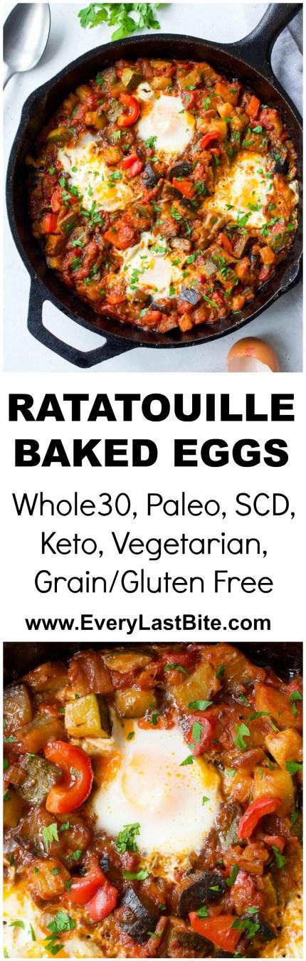 Ratatouille Baked Eggs