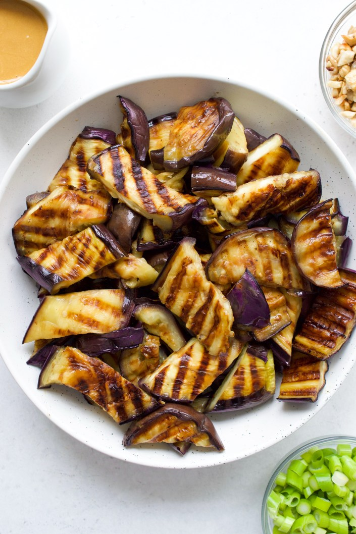 Asian Grilled Eggplant