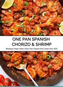 One Pan Spanish Chorizo & Shrimp
