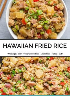 Paleo Hawaiian Fried Rice