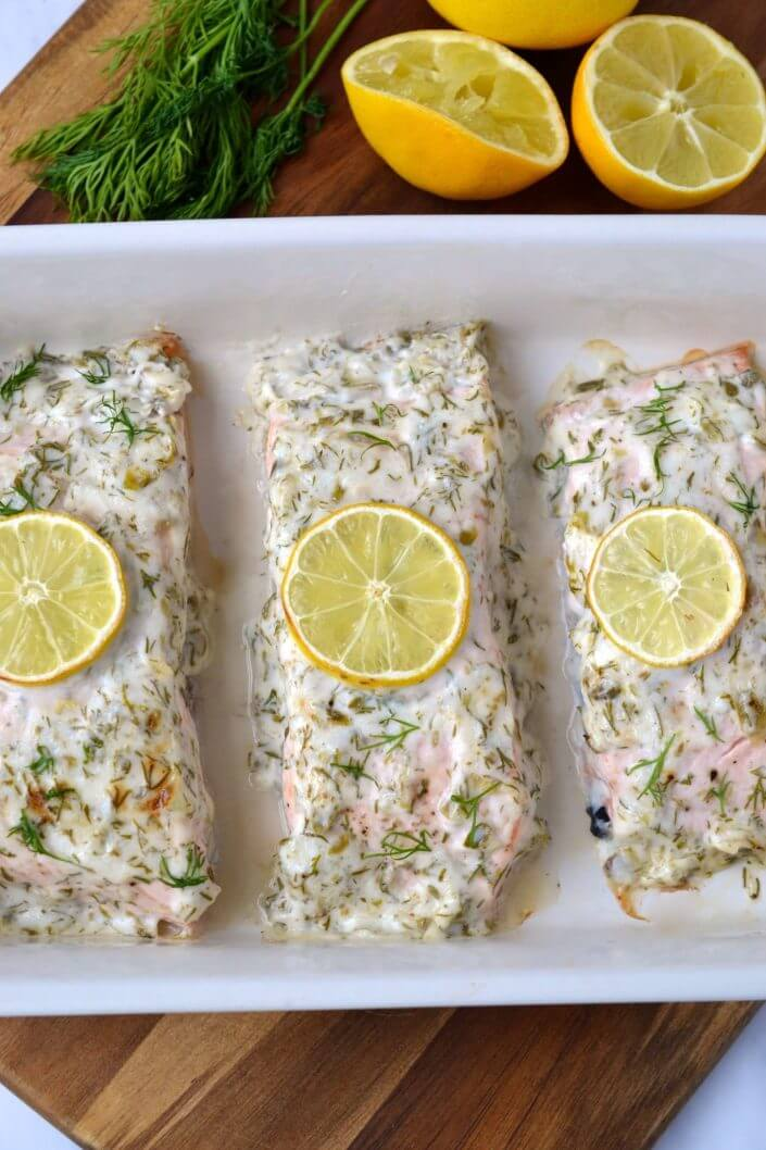 12-Minute Herb & Mayo Salmon