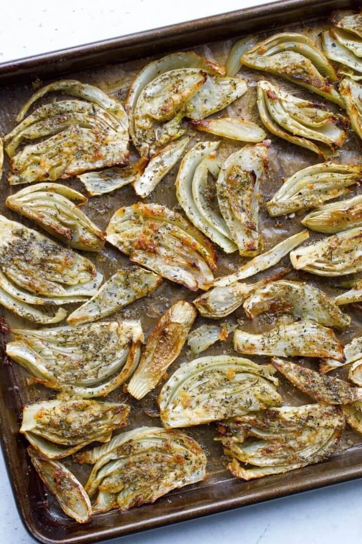 Roasted Fennel with Garlic & Herbs