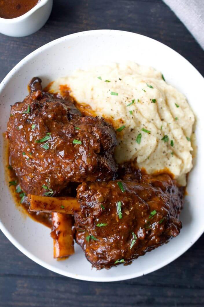 Braised Lamb Shanks | Every Last Bite