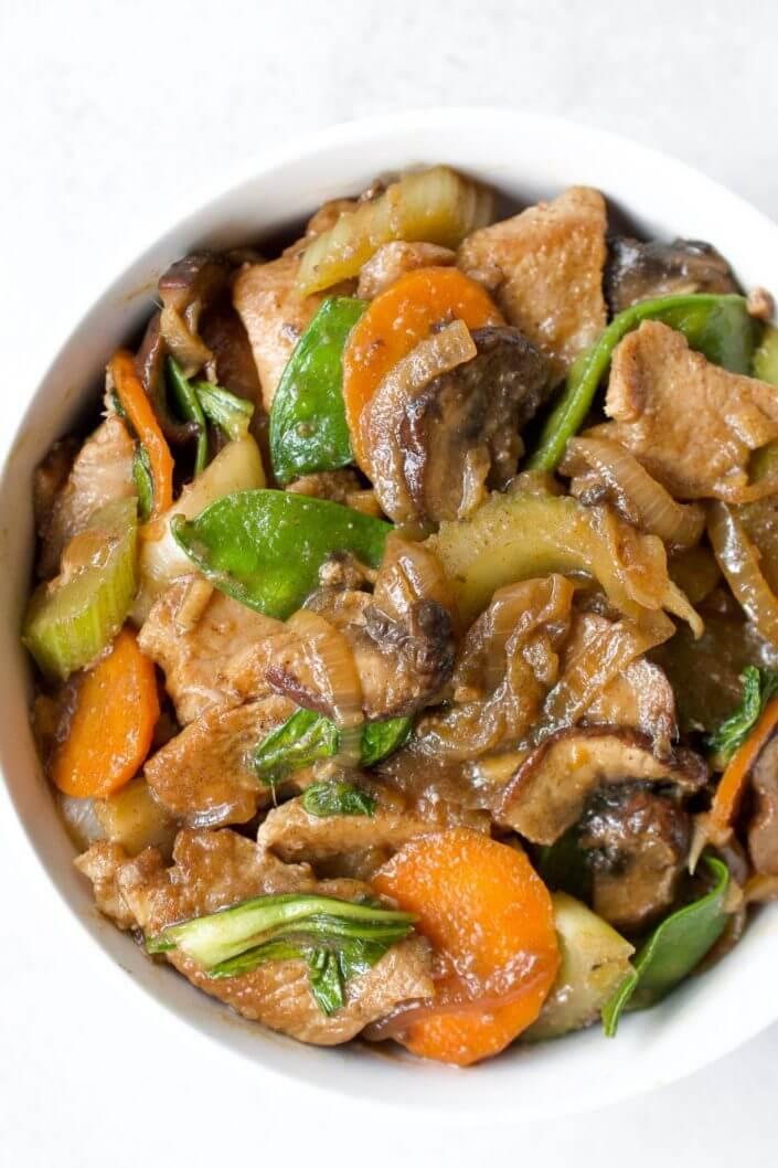 Paleo Chicken Chop Suey
