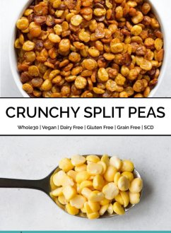 Crunchy Split Peas