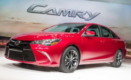 2015 Toyota Camry Reveal at NYIAS on Everyman Driver with Dave Erickson