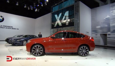 2014 New York Auto Show:  2015 BMW X4, 4 Series Gran Coupe on Everyman Driver with Dave Erickson