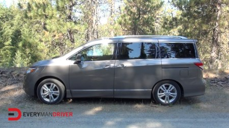 New Car Review of the 2014 Nissan Quest on Everyman Driver
