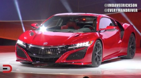 2016 Acura NSX Supercar Revealed on Everyman Driver, Dave Erickson