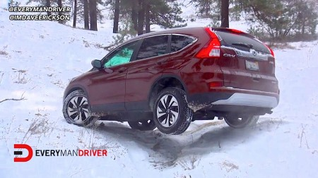 2015 Honda CR-V SNOWY Off-Road Review Everyman Driver