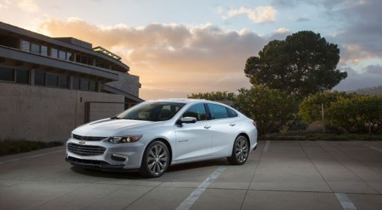2016 Chevrolet Malibu on Everyman Driver with Dave Erickson