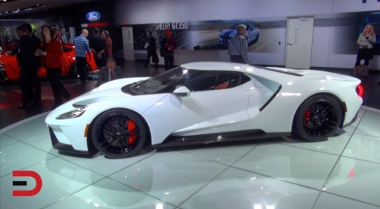 Gorilla Glass and 2017 Ford GT Supercar on Everyman Driver