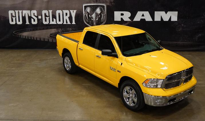 Ram Offers New 2016 Limited-edition Stinger Yellow 1500 Sport on Everyman Driver