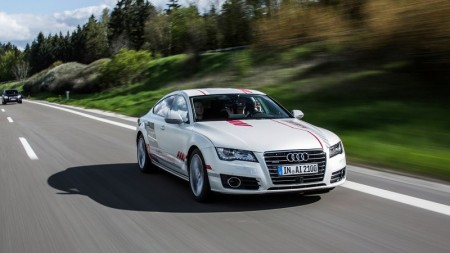Audi RS A7 Piloted Driving Concept on Everyman Driver