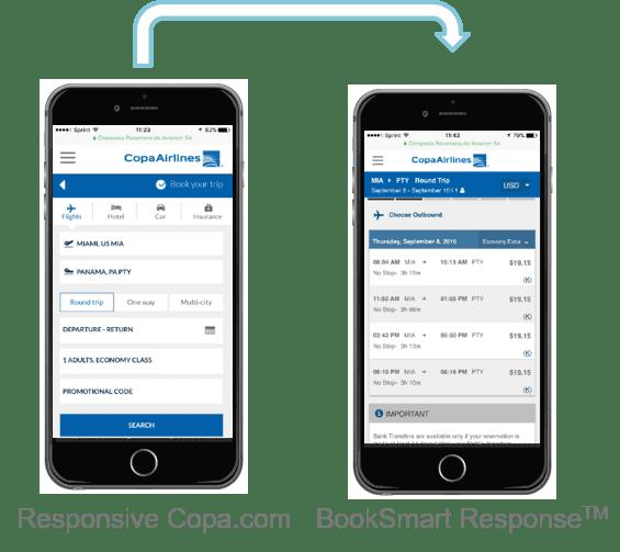 Copa's Responsive Flow with BookSmart Response