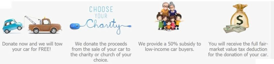 Donate your car charity motors will tow your car for free for How to buy a car from charity motors