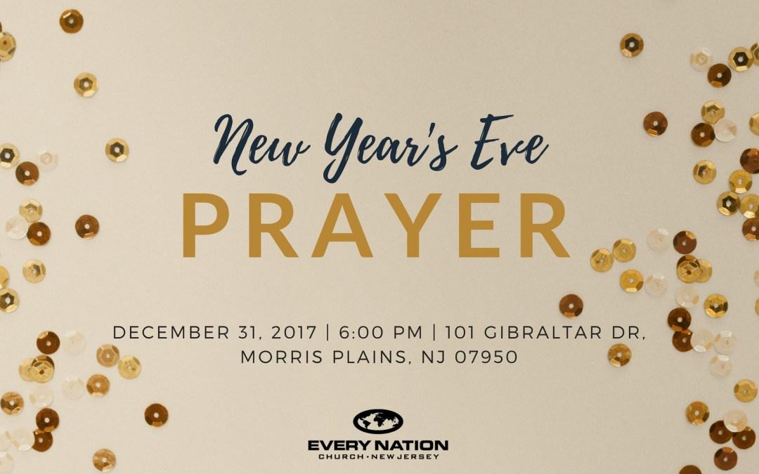 New Years Eve Prayer Service