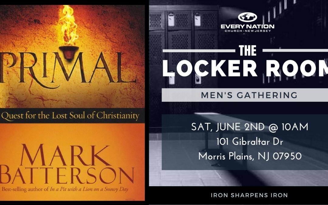 Locker Room Men's Gathering June