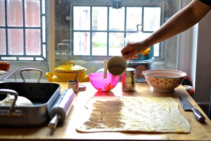 Homemade Cinnabons