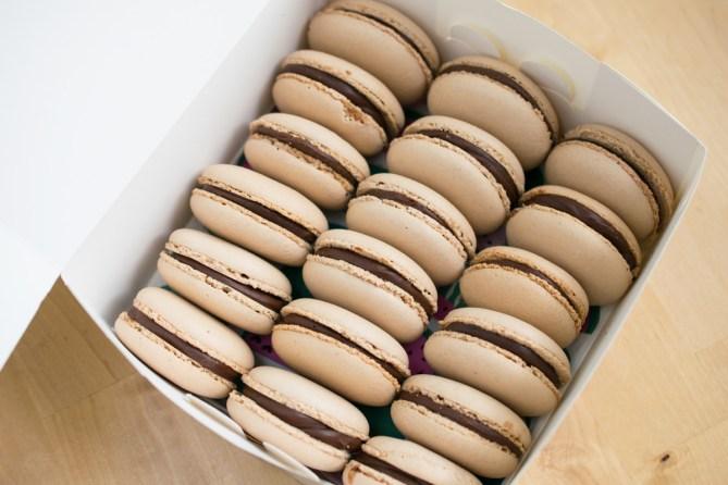 Chocolate Macarons-6