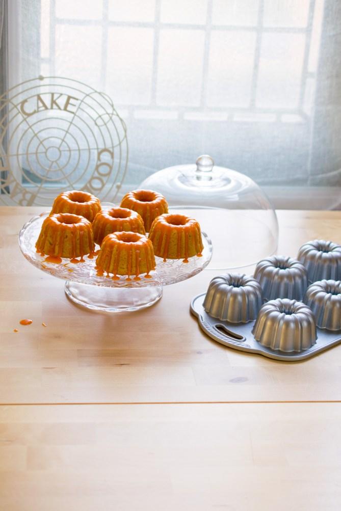 Gluten Free Orange & Vanilla Bundlettes