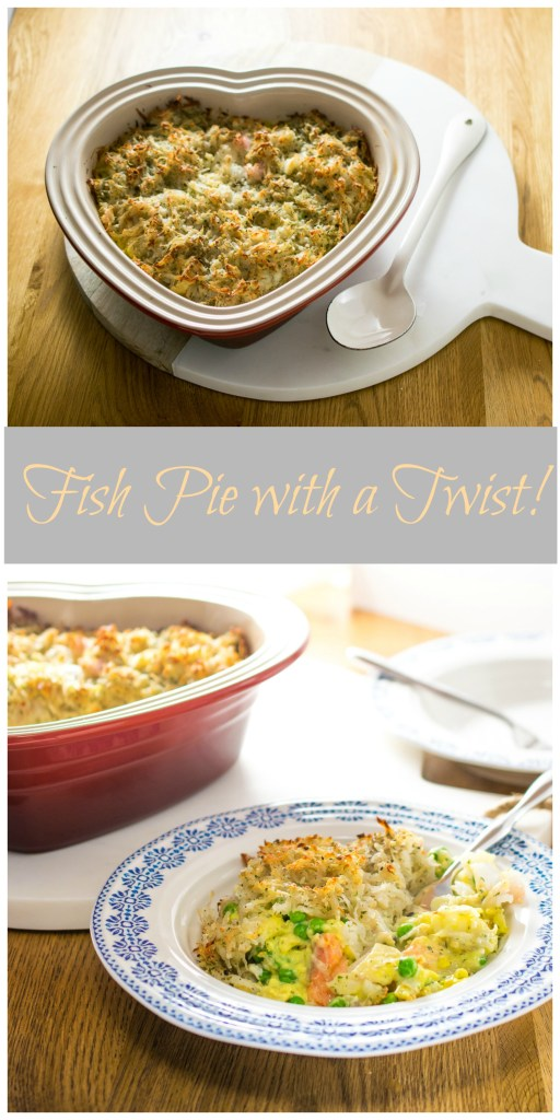 FIsh Pie With a Twist