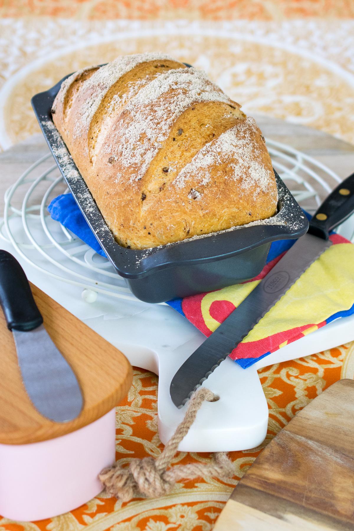 Lightly Malted Sandwich Loaf-2