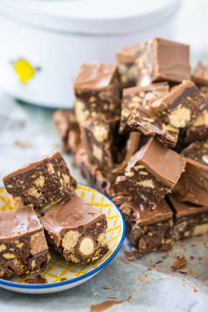 Leftover Chocolate Slice-6
