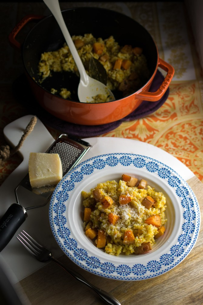 Baked Butternut Risotto-3