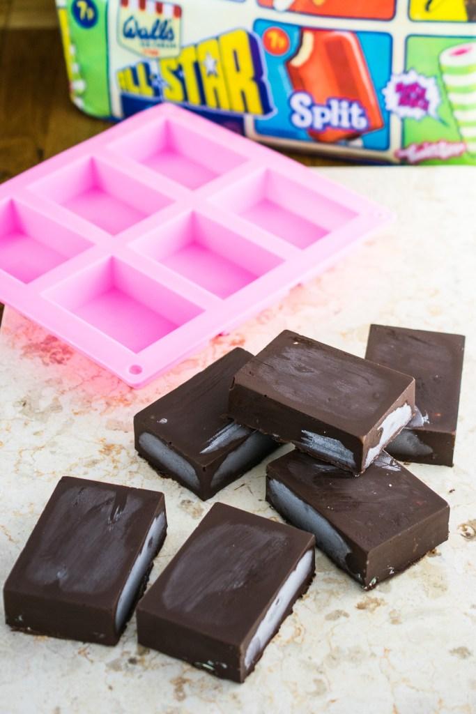homemade choc ices