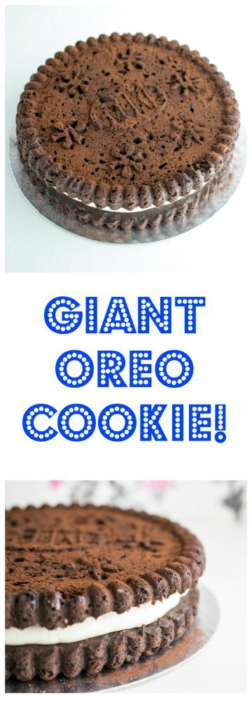 giant oreo cookie