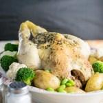 instant pot roast chicken dinner-2