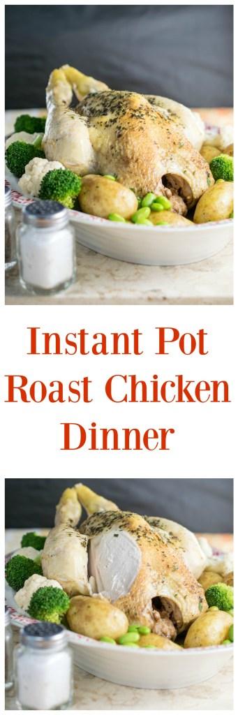 instant pot roast chicken dinner