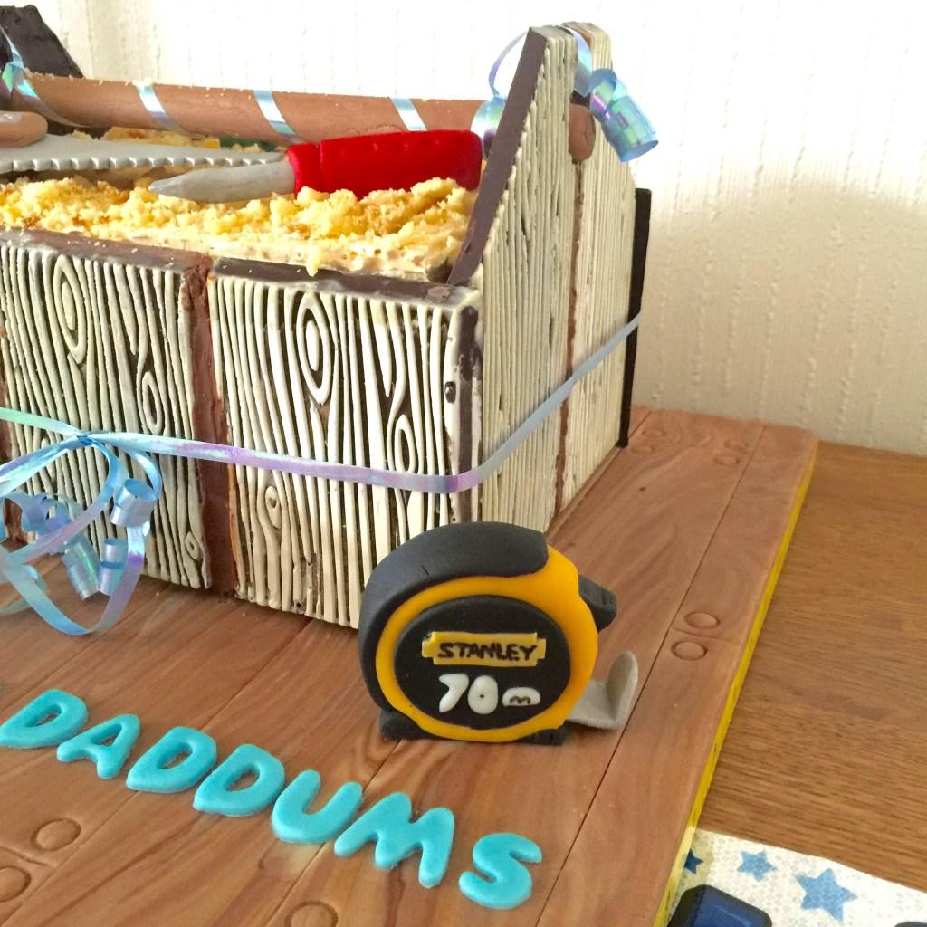 carpenter's bag cake