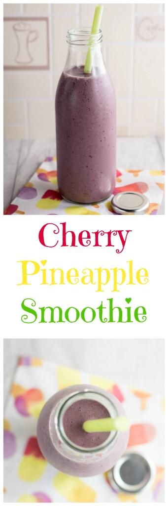 cherry-pineapple-smoothie