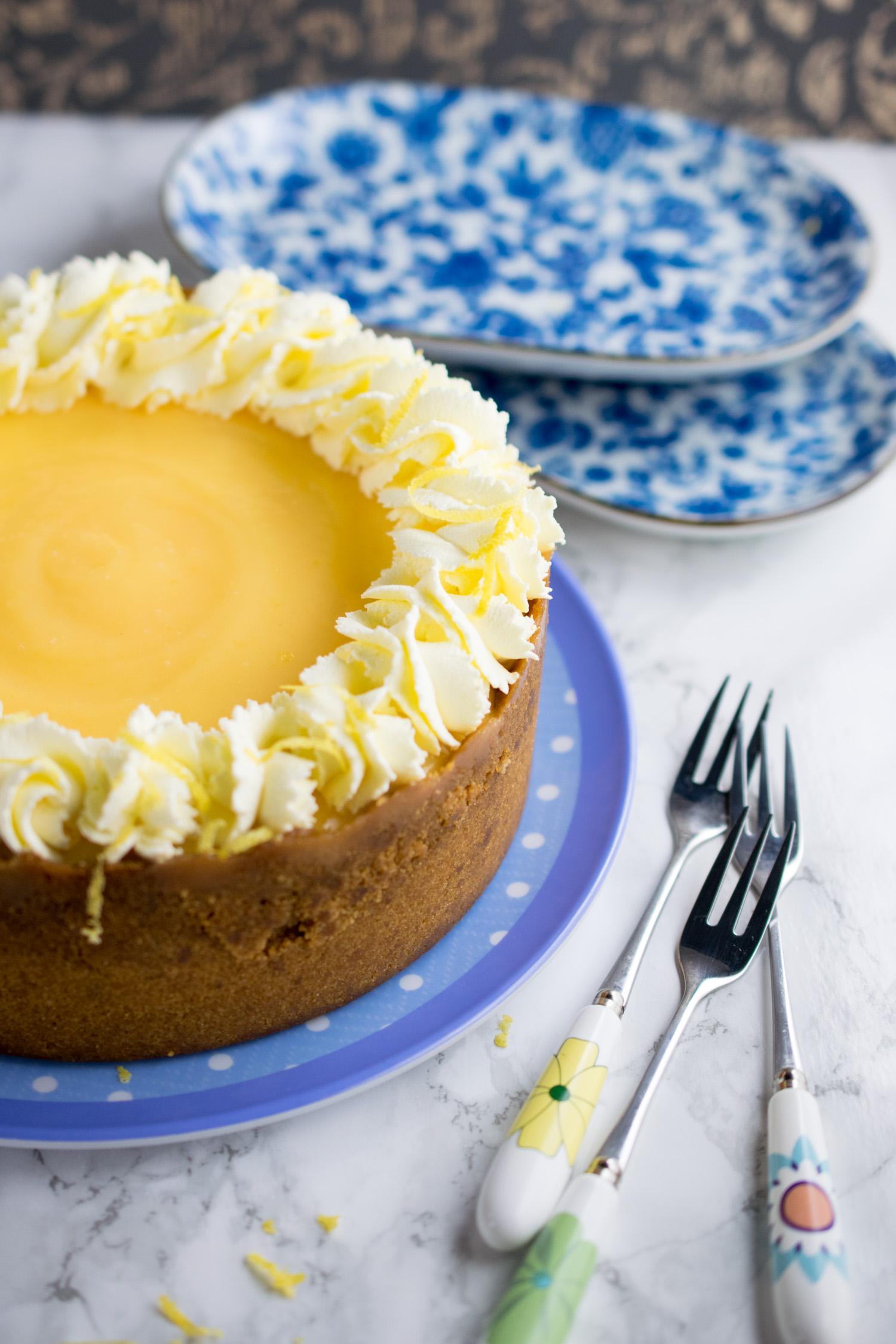 instant-pot-lemon-ginger-cheesecake-4